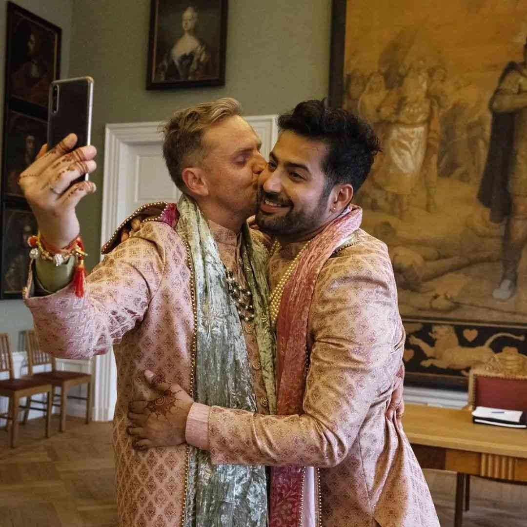 This Indian-Polish Pair's Wedding Photos Will Make You Ugly Cry & Wish For  A Love As True As Theirs