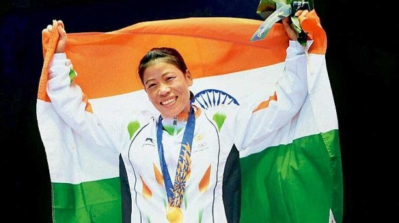 Mary Kom (Boxing)  IMAGES, GIF, ANIMATED GIF, WALLPAPER, STICKER FOR WHATSAPP & FACEBOOK