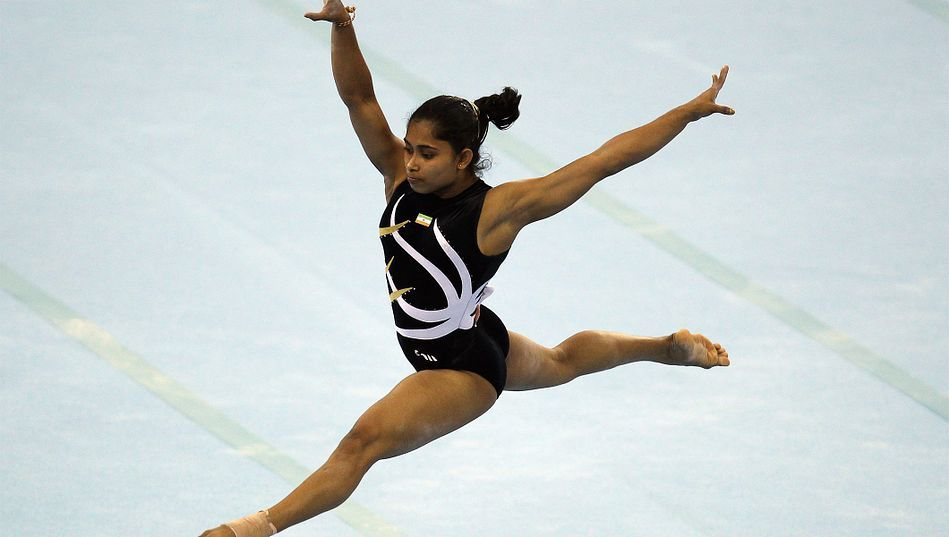 Dipa Karmakar (Gymnastics)  IMAGES, GIF, ANIMATED GIF, WALLPAPER, STICKER FOR WHATSAPP & FACEBOOK